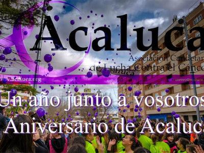 Primer aniversario de ACALUCA