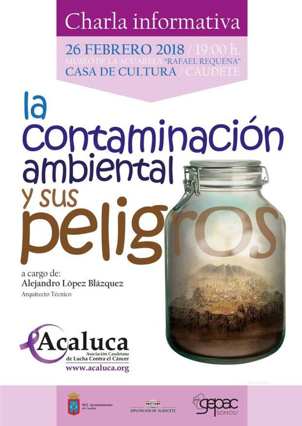 """Charla informativa: """"La contaminación ambiental y sus peligros"""""""