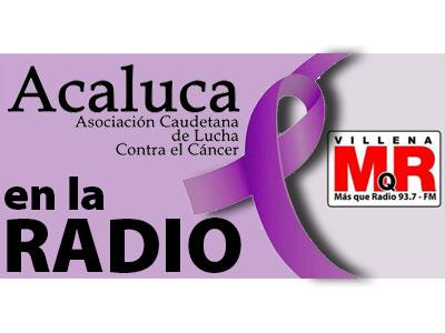 ACALUCA estuvo en MQR Radio de Cadena COPE