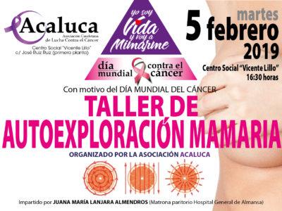 TALLER AUTOEXPLORACIÓN MAMARIA