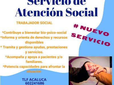 NUEVO SERVICIO -ATENCIÓN SOCIAL-
